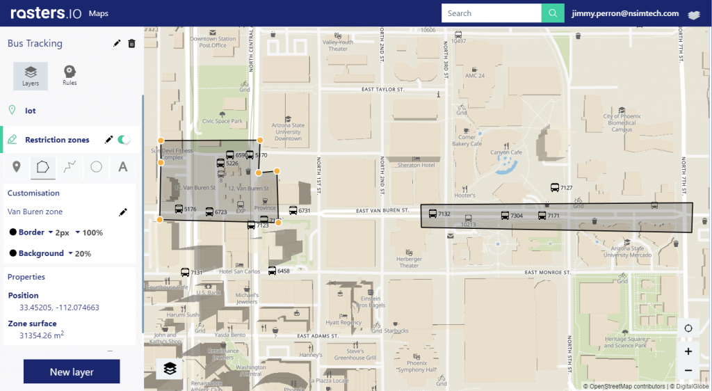 Track your assets and IoT on a real-time map : 5 steps